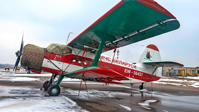 EW-56457 - PZL-Mielec An-2 - Belarus - Ministry for Emergency Situations (MChS)
