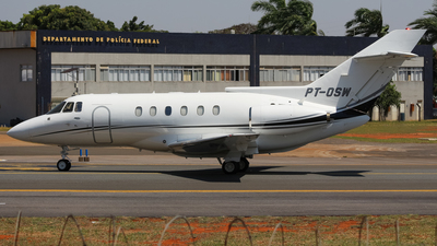 PT-OSW - British Aerospace BAe 125-800B - Private