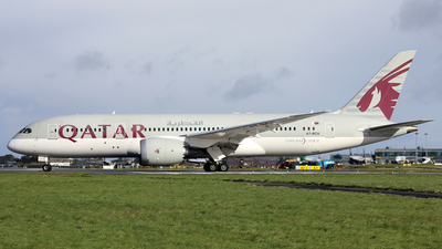 A picture of A7BCU - Boeing 7878 Dreamliner - Qatar Airways - © PAUL QUINN