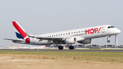 F-HBLG - Embraer 190-100LR - HOP! for Air France