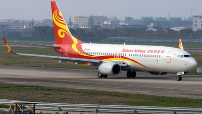 A picture of B5712 - Boeing 73784P - Hainan Airlines - © XPHNGB