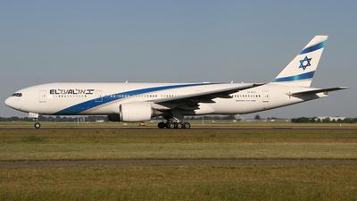 A picture of 4XECC - Boeing 777258(ER) - El Al - © Frank Specker