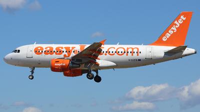 G-EZFB - Airbus A319-111 - easyJet