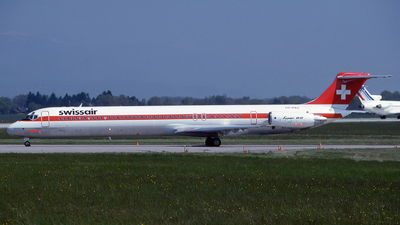 PH-MBZ - McDonnell Douglas MD-82 - Swissair