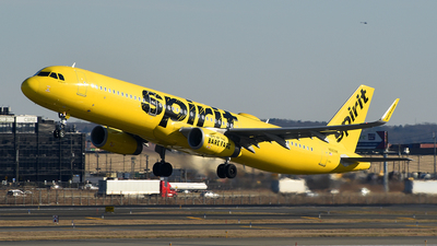 A picture of N660NK - Airbus A321231 - Spirit Airlines - © Rocky Wang