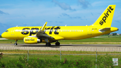 N654NK - Airbus A320-232 - Spirit Airlines