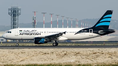 A picture of 5AONJ - Airbus A320214 - Afriqiyah Airways - © Alp AKBOSTANCI