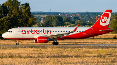 D-ABNM - Airbus A320-214 - Air Berlin