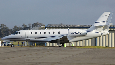 N680KJ - Cessna 680 Citation Sovereign - Private