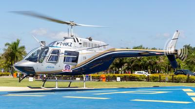 PT-HKZ - Bell 206B JetRanger - Avalon Táxi Aéreo