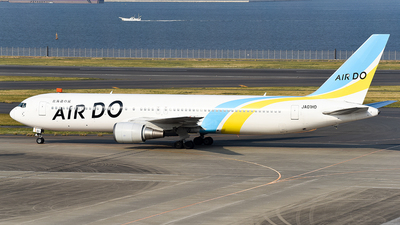 JA01HD - Boeing 767-33A(ER) - Air Do (Hokkaido International Airlines)