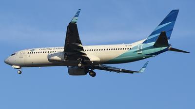 PK-GMY - Boeing 737-8U3 - Garuda Indonesia