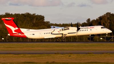 A picture of VHQOV - De Havilland Canada Dash 8400 - QantasLink - © ybbnaviation