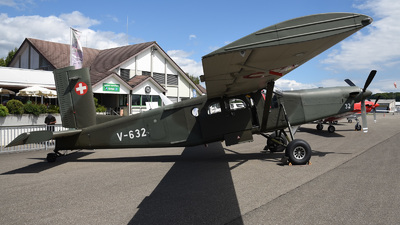 V-632 - Pilatus PC-6/B2-H2 Turbo Porter - Switzerland - Air Force
