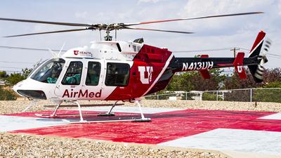 N413UH - Bell 407 - University of Utah Health