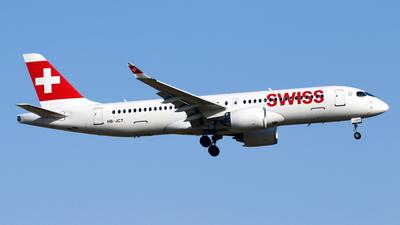 HB-JCT - Airbus A220-300 - Swiss