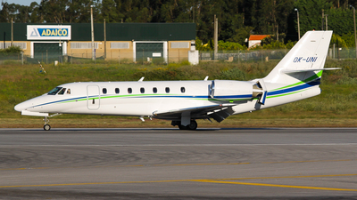 OK-UNI - Cessna 680 Citation Sovereign - Travel Service
