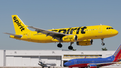 A picture of N603NK - Airbus A320232 - Spirit Airlines - © Mark Lawrence