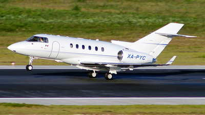 XA-PYC - Raytheon Hawker 800XP - Private
