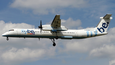 G-ECOD - Bombardier Dash 8-Q402 - Flybe