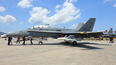M45-04 - McDonnell Douglas F/A-18D Hornet - Malaysia - Air Force