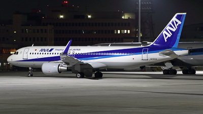 JA01VA - Airbus A320-214 - All Nippon Airways (ANA)