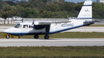 N209RG - Britten-Norman BN-2A-6 Islander - Island Air