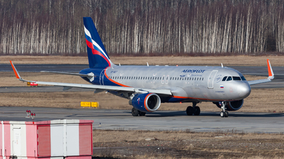 A picture of VPBET - Airbus A320214 - Aeroflot - © Marianna Rychkovskaia
