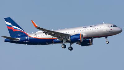 F-WWBS - Airbus A320-251N - Aeroflot
