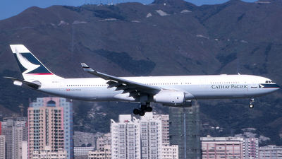 VR-HLJ - Airbus A330-342 - Cathay Pacific Airways