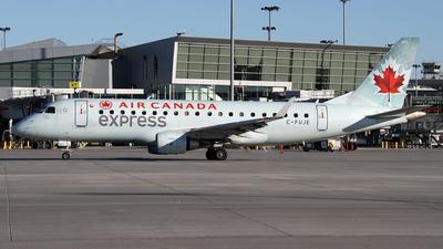 A picture of CFUJE - Embraer E175SU - Air Canada - © Daniel Lapierre Forget