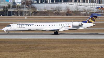 D-ACNI - Bombardier CRJ-900 - Lufthansa Regional (CityLine)