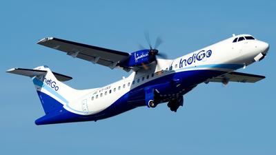 A picture of VTIXS - ATR 72600 - IndiGo - © Yang Qize