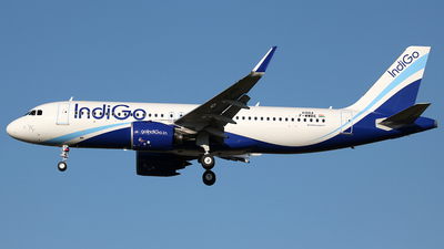 F-WWBE - Airbus A320-271N - IndiGo Airlines