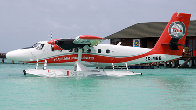 8Q-MBB - De Havilland Canada DHC-6-300 Twin Otter - Trans Maldivian Airways