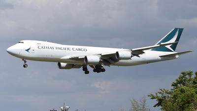 A picture of BLJL - Boeing 747867(F) - Cathay Pacific - © Akihiko Takahashi