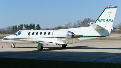 N604PJ - Cessna 550 Citation II - Private