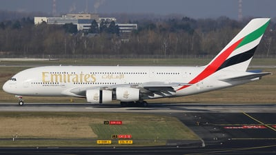 A6-EOT - Airbus A380-861 - Emirates