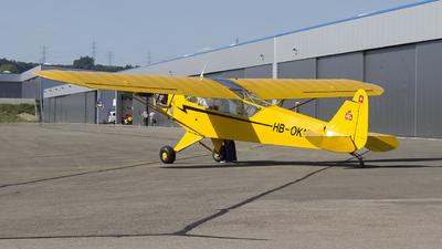 HB-OKN - Piper J-3C-65 Cub - Private