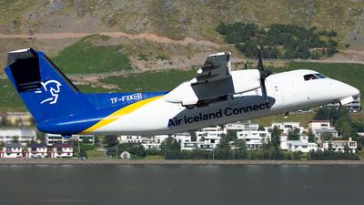 A picture of TFFXK - De Havilland Canada Dash 8200 - Icelandair - © Philipp Greiml