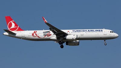 A picture of TCJTE - Airbus A321231 - Turkish Airlines - © Alexander Nieder