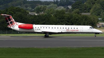 A picture of GSAJN - Embraer ERJ145EP - Loganair - © Darren Conn