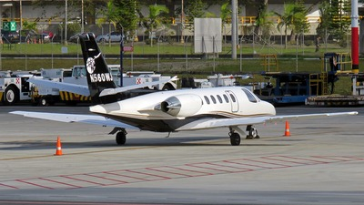 N560WJ - Cessna 560 Citation V - Private