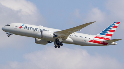 A picture of N872AN - Boeing 7878 Dreamliner - American Airlines - © Nelson Mejia