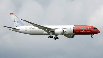 G-CJGI - Boeing 787-9 Dreamliner - Norwegian