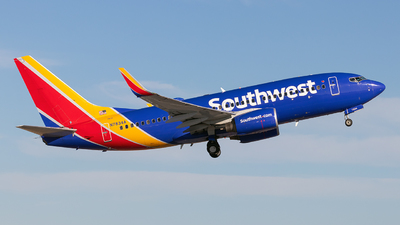 N7834A - Boeing 737-7H4 - Southwest Airlines