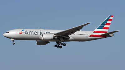 A picture of N798AN - Boeing 777223(ER) - American Airlines - © Julian Mittnacht