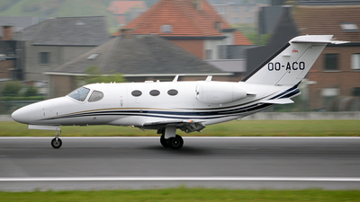 OO-ACO - Cessna 510 Citation Mustang - Air Service Liège (ASL)