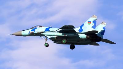 07 - Mikoyan-Gurevich Mig-29UBM Fulcrum  - Azerbaijan - Air Force