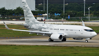 N2708E - Boeing 737-7LT(BBJ)  - Private